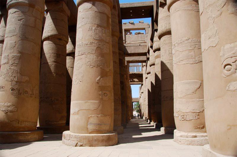 Il tempio di Karnak