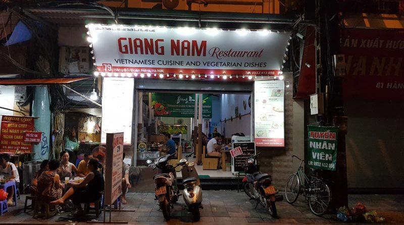 Mangiare ad Hanoi
