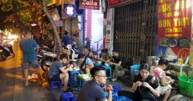 Vita notturna di Hanoi