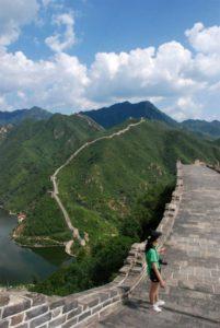 Uno scorcio panoramico del lago di Huanghuacheng