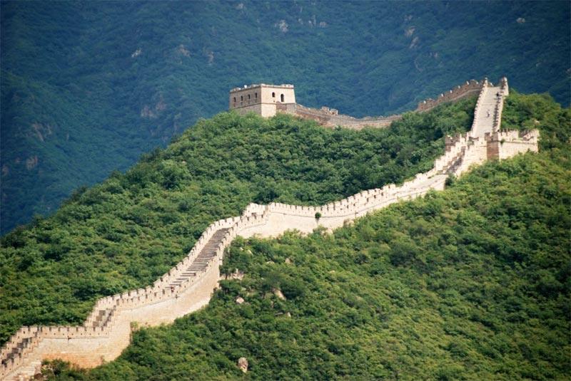 Un torrione difensivo della Grane Muraglia Cinese