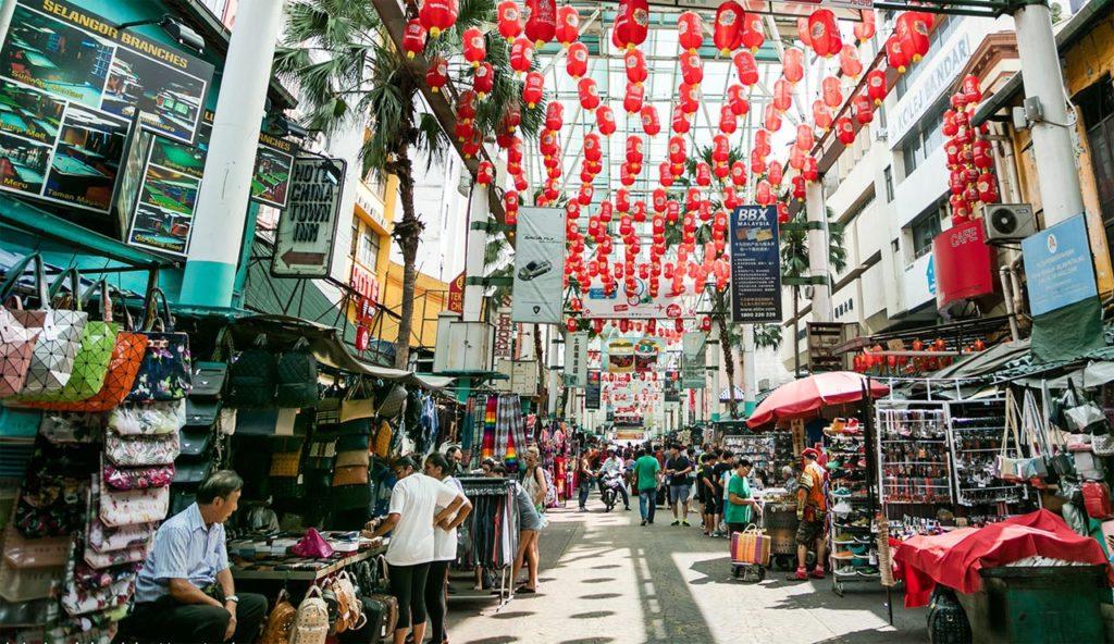 mercato dei falsi di Petaling