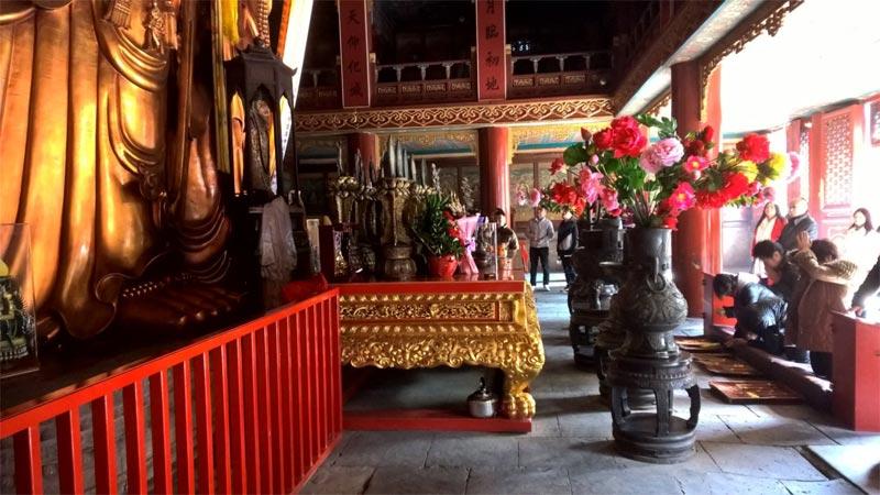La sala principale del Wanfu