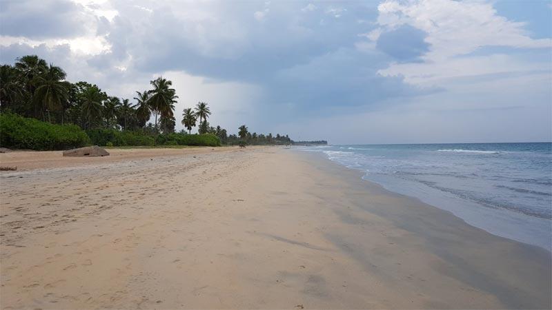 La spiaggia di Nilaveli