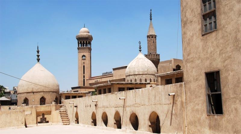 Una delle terrazze panoramiche della moschea di al-Azhar