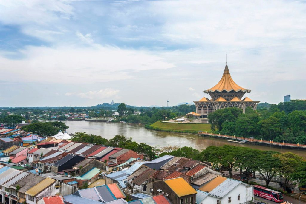 Come arrivare a Kuching