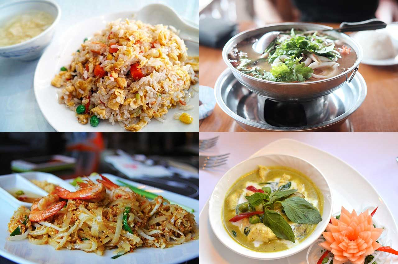 piatti thailandesi