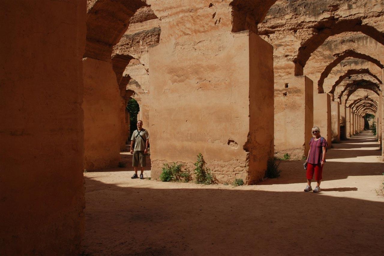scuderi reali di Meknes