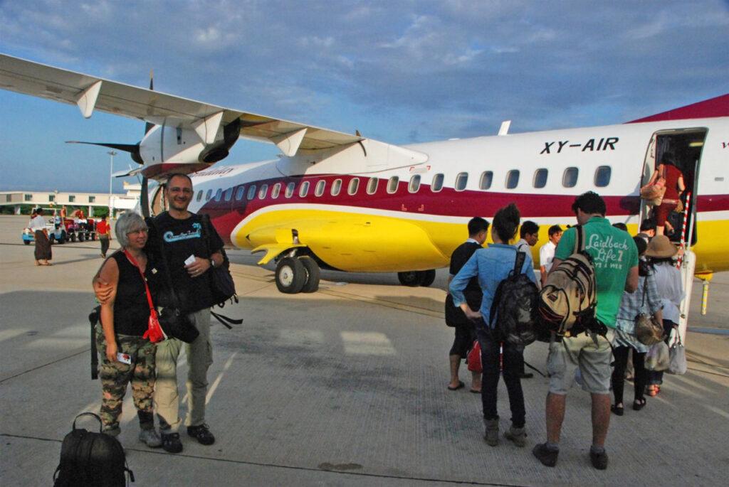Ritorno a Yangon